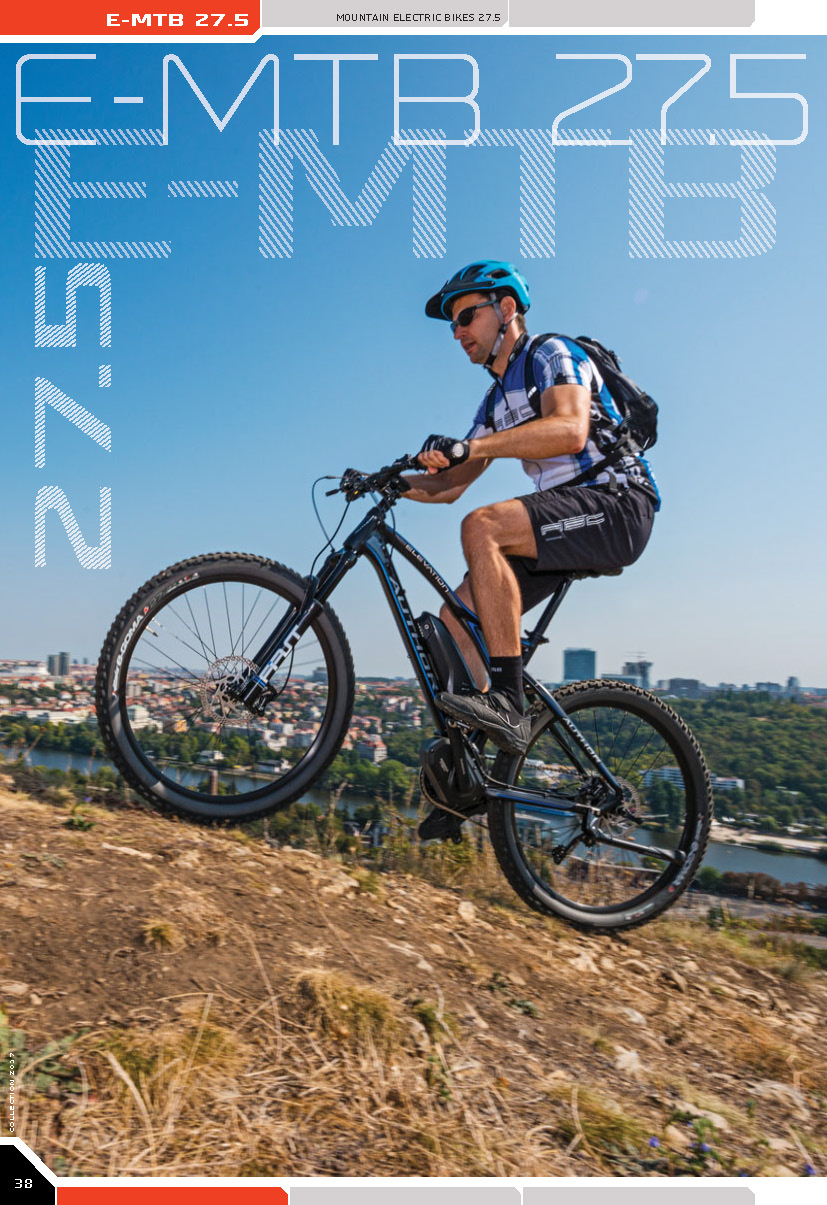 E-MTB 27.5 - mountain electric bikes 27.5