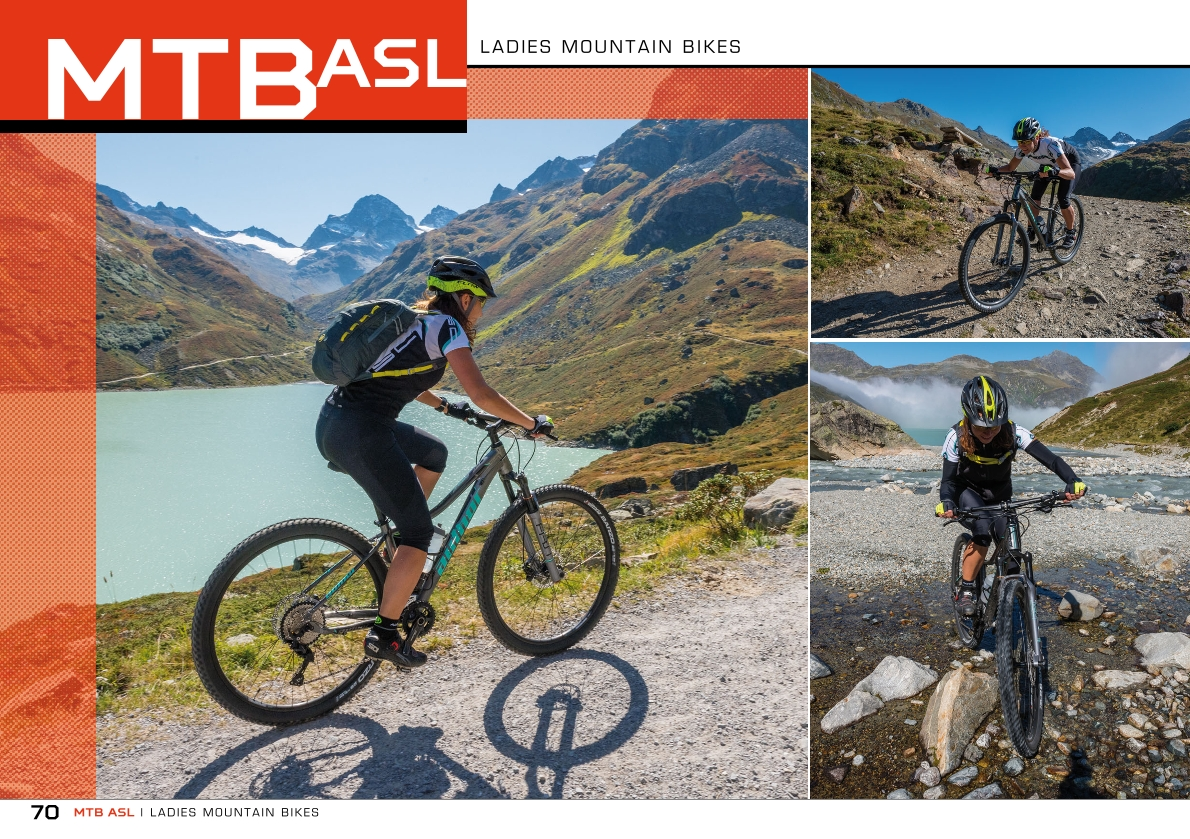 MTB ASL - ladies mountain bikes