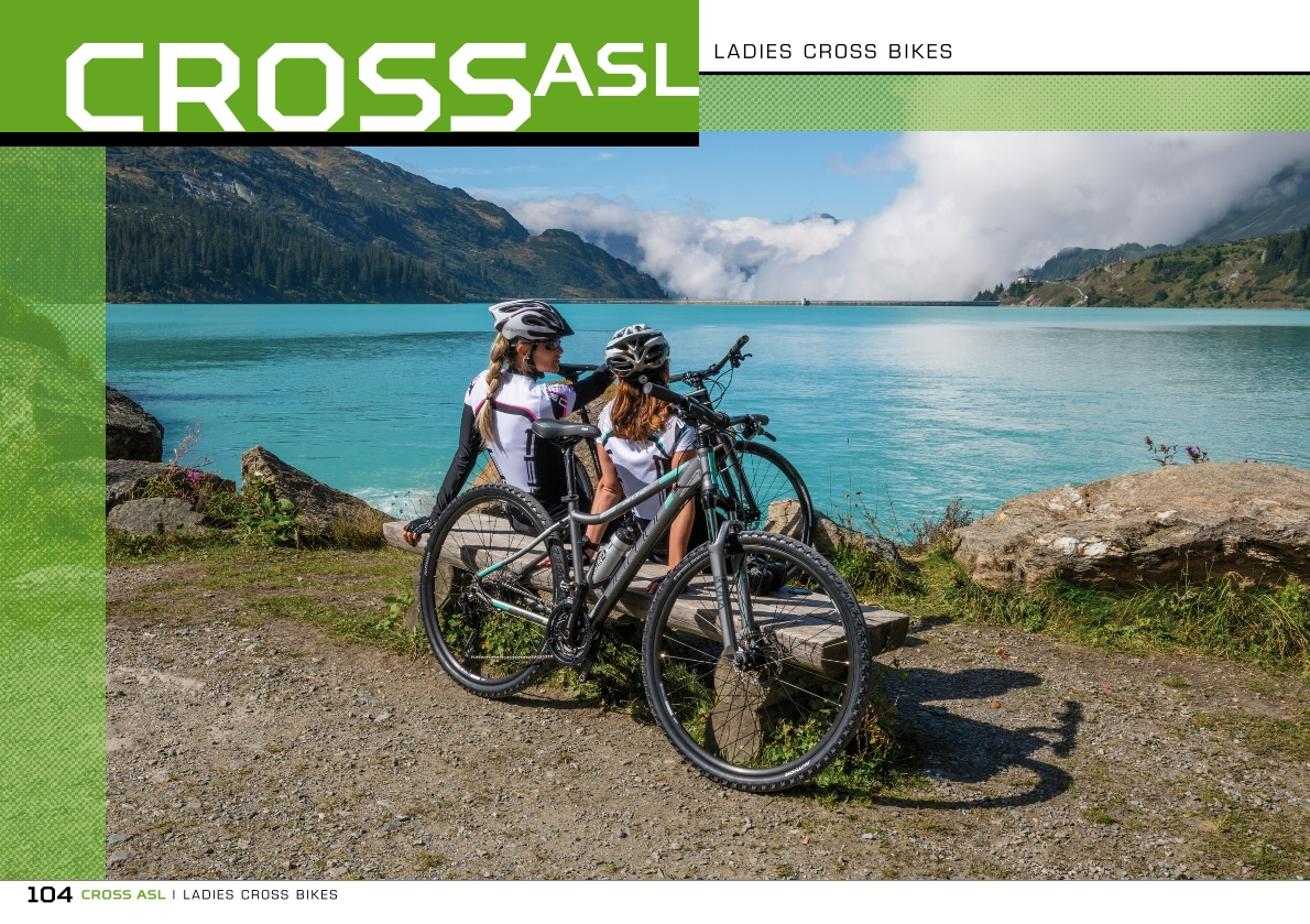 CROSS ASL - ladies cross bikes